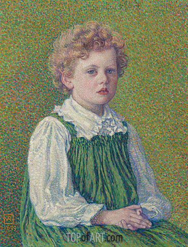 Margery, 1899 | Rysselberghe| Painting Reproduction