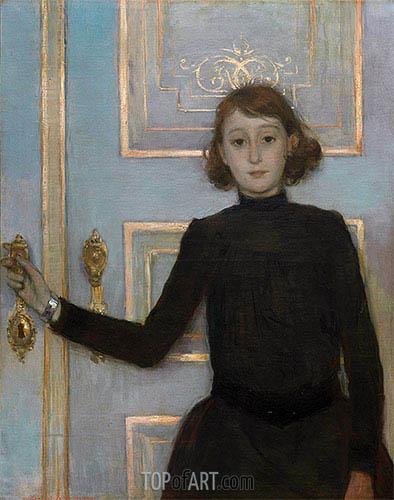 Rysselberghe | Portrait of Margueritte van Mons, b.1926