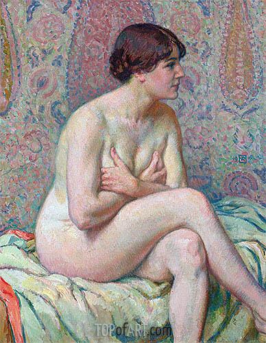 Rysselberghe | Seated Nude, 1916