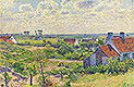 Landscape with Houses | Theo van Rysselberghe