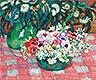 Anemones and Eucalyptus | Theo van Rysselberghe