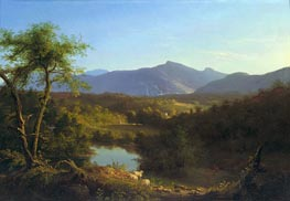 View near the Village of Catskill | Thomas Cole | Painting Reproduction