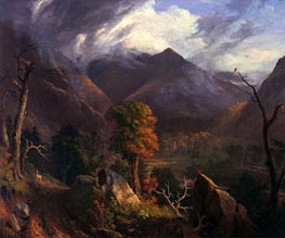 Peace at Sunset (Evening in the White Moutains) | Thomas Cole | outdated