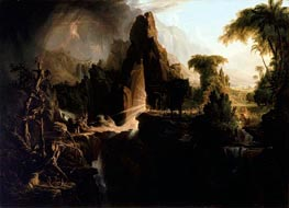 Expulsion from the Garden of Eden | Thomas Cole | Gemälde Reproduktion