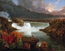 Distant View of Niagara Falls | Thomas Cole | Painting Reproduction