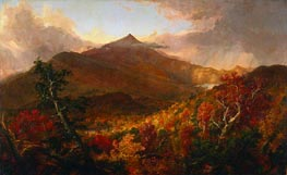 View of Schroon Mountain, Essex County, New York, After a Storm, 1838 by Thomas Cole | Painting Reproduction