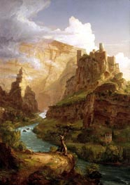 The Fountain of Vaucluse, 1841 by Thomas Cole | Painting Reproduction
