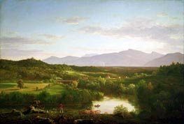River in the Catskills, 1843 by Thomas Cole | Painting Reproduction