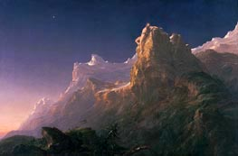 Prometheus Bound | Thomas Cole | Painting Reproduction