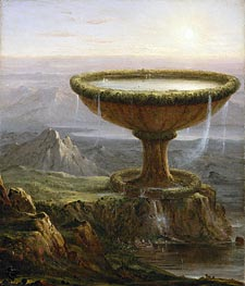The Titan's Goblet, 1833 by Thomas Cole | Painting Reproduction