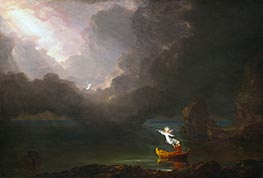 Voyage of Life - Old Age, 1842 by Thomas Cole | Painting Reproduction