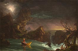 Voyage of Life - Manhood, 1842 by Thomas Cole | Painting Reproduction