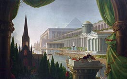 The Architect's Dream, 1840 by Thomas Cole | Painting Reproduction