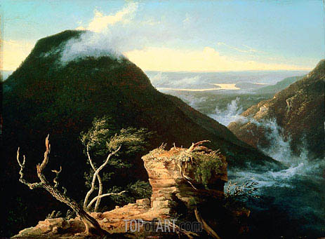 View of the Round Top in the Catskill Mountains, 1827 | Thomas Cole | Gemälde Reproduktion