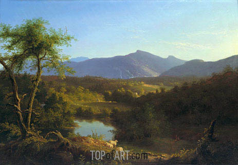 Thomas Cole | View near the Village of Catskill, 1827