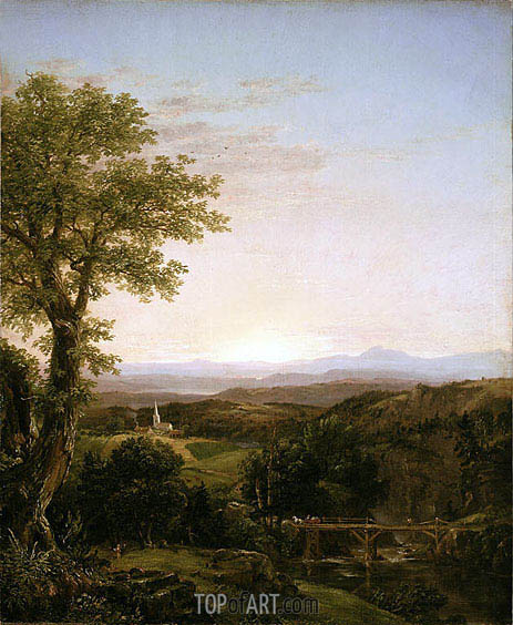 Thomas Cole | New England Scenery, 1839
