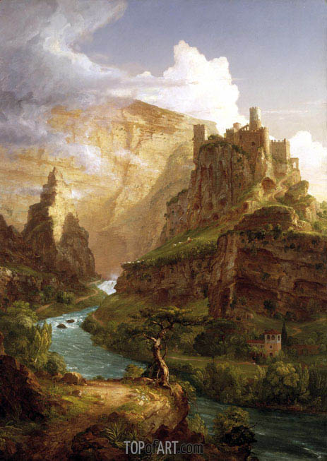 Thomas Cole | The Fountain of Vaucluse, 1841