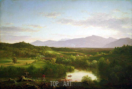 River in the Catskills, 1843 | Thomas Cole | Gemälde Reproduktion
