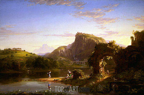 L'Allegro, 1845 | Thomas Cole| Painting Reproduction