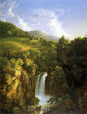 Genesee Scenery (Poop), 1847 | Thomas Cole| Painting Reproduction