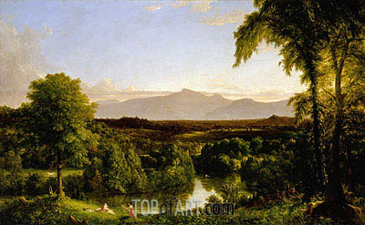 View on the Catskill (Early Autumn Overall), c.1836/37 | Thomas Cole | Painting Reproduction