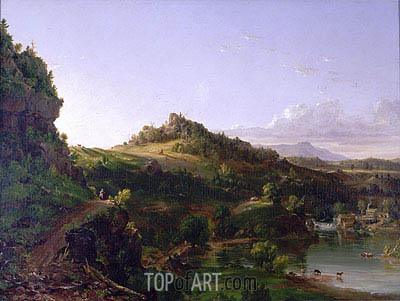 Catskill Scenery, c.1833 | Thomas Cole| Painting Reproduction