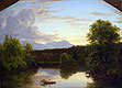 North Mountain and Catskill Creek | Thomas Cole