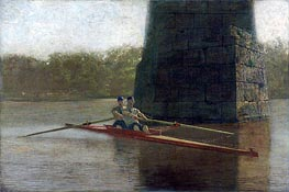 The Pair-Oared Shell, 1872 by Thomas Eakins | Painting Reproduction