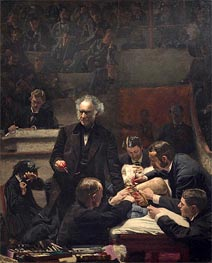 The Gross Clinic, 1875 by Thomas Eakins | Painting Reproduction