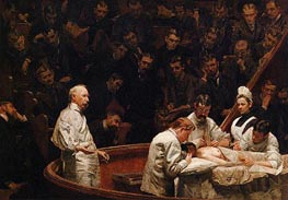 The Agnew Clinic, 1889 by Thomas Eakins | Painting Reproduction