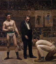 Taking the Count, 1898 by Thomas Eakins | Painting Reproduction