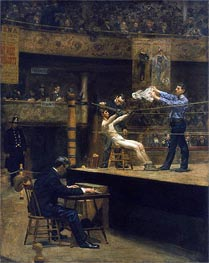 Between Rounds | Thomas Eakins | Gemälde Reproduktion