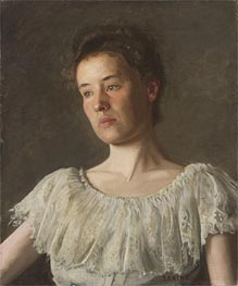 Portrait of Miss Alice Kurtz, 1903 by Thomas Eakins | Painting Reproduction