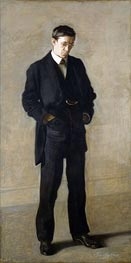 The Thinker: Portrait of Louis N. Kenton, 1900 by Thomas Eakins | Painting Reproduction