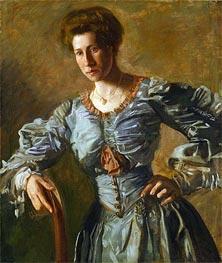 Portrait of Elizabeth L. Burton, c.1905/06 by Thomas Eakins | Painting Reproduction