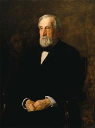 Portrait of John B. Gest, 1905 by Thomas Eakins | Painting Reproduction