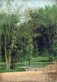 Fairmount Park, c.1879/80 by Thomas Eakins | Painting Reproduction
