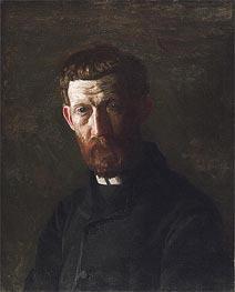 Portrait of Arthur Burdett Frost | Thomas Eakins | Gemälde Reproduktion