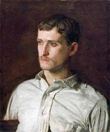 Portrait of Douglass Morgan Hall | Thomas Eakins | Gemälde Reproduktion