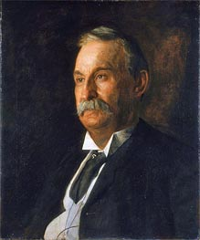 Portrait of Edward Taylor Snow, 1904 by Thomas Eakins | Painting Reproduction