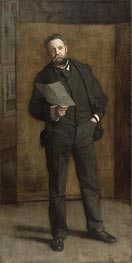 Portrait of Leslie W. Miller, 1901 by Thomas Eakins | Painting Reproduction
