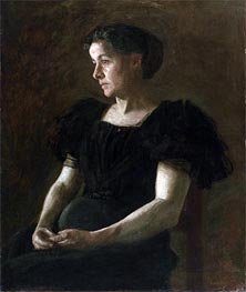 Portrait of Mrs. Frank Hamilton Cushing, 1895 by Thomas Eakins | Painting Reproduction
