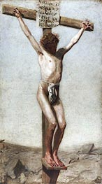 The Crucifixion, 1880 by Thomas Eakins | Painting Reproduction