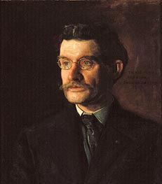 Portrait of Thomas J. Eagan, 1907 by Thomas Eakins | Painting Reproduction