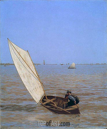 Starting Out after Rail, 1874 | Thomas Eakins| Painting Reproduction