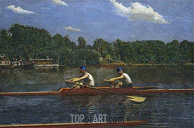 The Biglin Brothers Racing, 1872 | Thomas Eakins | Painting Reproduction