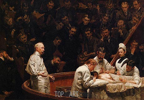 The Agnew Clinic, 1889 | Thomas Eakins| Gemälde Reproduktion