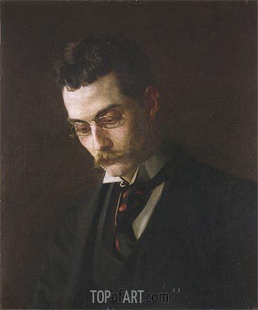 Francis J. Ziegler, c.1890 | Thomas Eakins| Painting Reproduction
