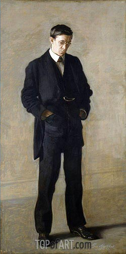 The Thinker: Portrait of Louis N. Kenton, 1900 | Thomas Eakins| Painting Reproduction