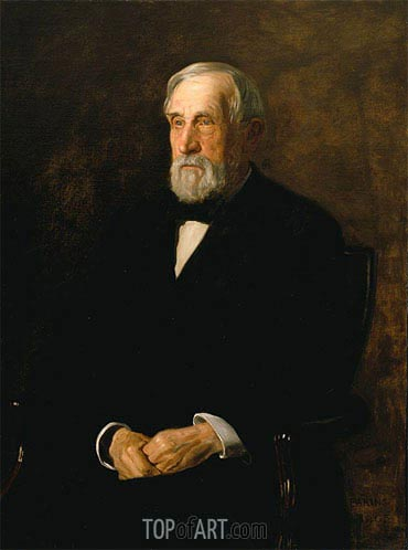 Portrait of John B. Gest, 1905 | Thomas Eakins| Painting Reproduction